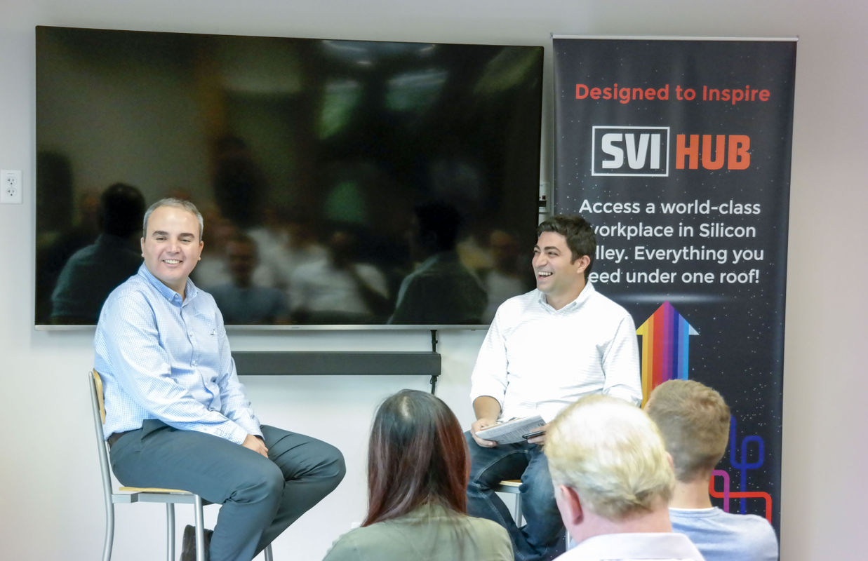 Savas Komban, Board Member SVIgnite and Serdar Turac, Ph.D., CEO at SVIgnite